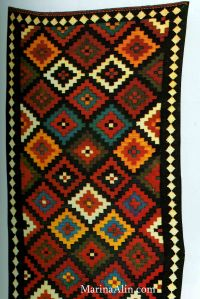 "Iranian rug, photo from the book ""Persian Kilims"" by A.Hull, N.Barnard"