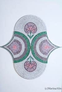 Mosaic wall panel. Marina Alin