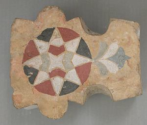Tile, 12th–14th century, Egypt, Met